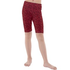 Bicycle Guitar Casual Car Red Kids  Mid Length Swim Shorts