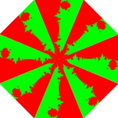 Critical Points Line Circle Red Green Folding Umbrellas