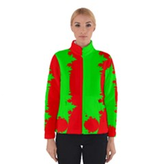 Critical Points Line Circle Red Green Winterwear