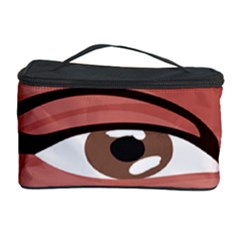 Eye Difficulty Red Cosmetic Storage Case