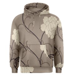 Flower Floral Black Grey Rose Men s Pullover Hoodie
