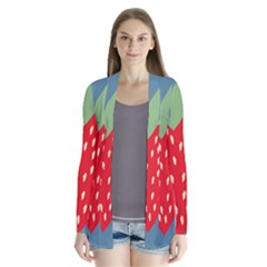 Fruit Red Strawberry Cardigans
