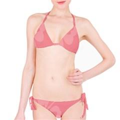 Hibiscus Sakura Strawberry Ice Pink Bikini Set