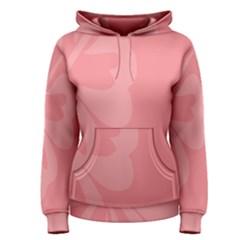 Hibiscus Sakura Strawberry Ice Pink Women s Pullover Hoodie