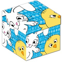 Easter bunny and chick  Storage Stool 12