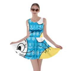 Easter bunny and chick  Skater Dress
