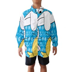 Easter bunny and chick  Wind Breaker (Kids)