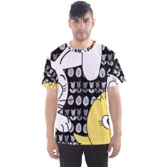Easter bunny and chick  Men s Sport Mesh Tee