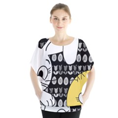 Easter bunny and chick  Blouse