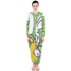 Easter bunny and chick  OnePiece Jumpsuit (Ladies)