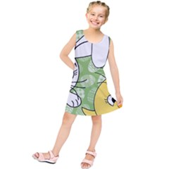 Easter bunny and chick  Kids  Tunic Dress