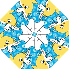 Easter bunny and chick  Folding Umbrellas