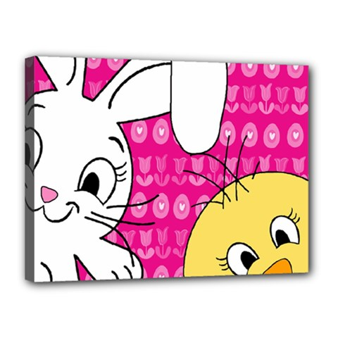 Easter Canvas 16  x 12