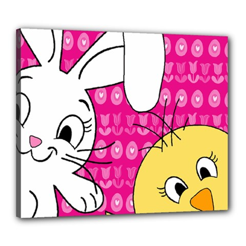 Easter Canvas 24  x 20