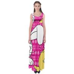 Easter Empire Waist Maxi Dress