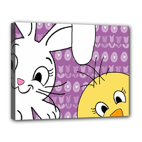 Easter Canvas 14  x 11