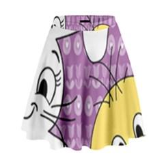 Easter High Waist Skirt