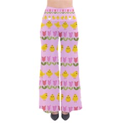 Easter - chick and tulips Pants