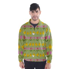 Easter - chick and tulips Wind Breaker (Men)