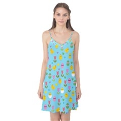 Easter - chick and tulips Camis Nightgown