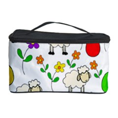 Easter lamb Cosmetic Storage Case