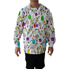 Easter lamb Hooded Wind Breaker (Kids)