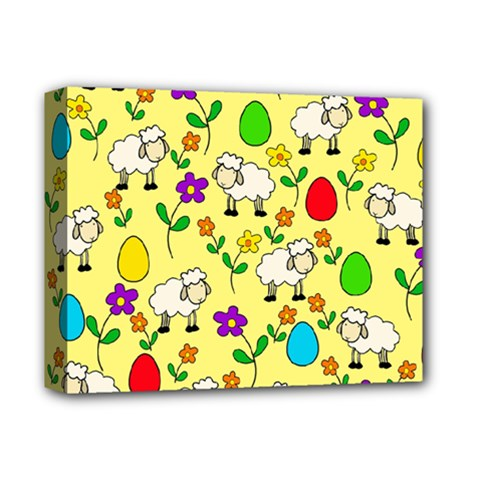 Easter lamb Deluxe Canvas 14  x 11