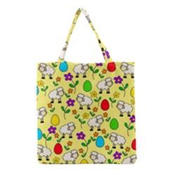Easter lamb Grocery Tote Bag