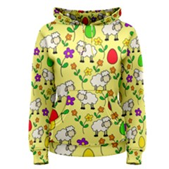 Easter lamb Women s Pullover Hoodie