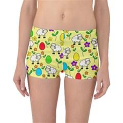 Easter lamb Boyleg Bikini Bottoms