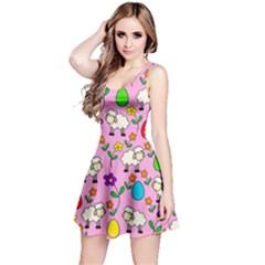 Easter lamb Reversible Sleeveless Dress