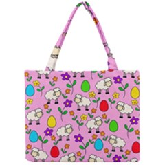 Easter lamb Mini Tote Bag