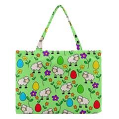 Easter lamb Medium Tote Bag