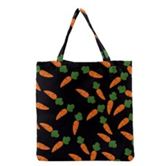 Carrot pattern Grocery Tote Bag