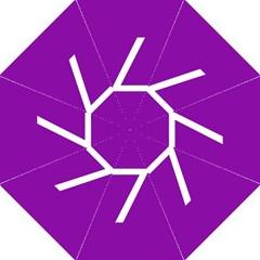Number 7 Purple Golf Umbrellas