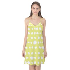 Polkadot White Yellow Camis Nightgown