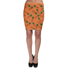 Carrot pattern Bodycon Skirt
