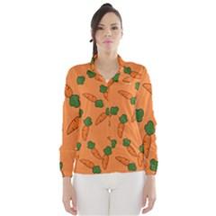 Carrot pattern Wind Breaker (Women)