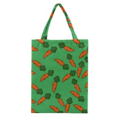 Carrot pattern Classic Tote Bag