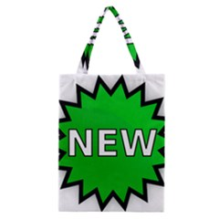 New Icon Sign Classic Tote Bag