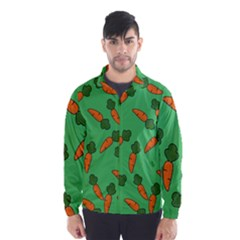Carrot pattern Wind Breaker (Men)
