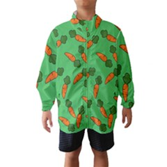 Carrot pattern Wind Breaker (Kids)