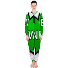 New Icon Sign OnePiece Jumpsuit (Ladies)