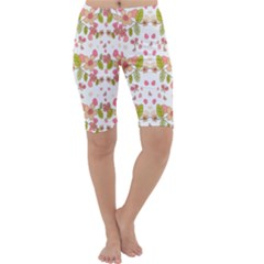 Floral pattern Cropped Leggings