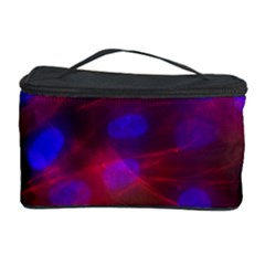 Vaccine Blur Red Cosmetic Storage Case