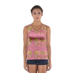 Floral pattern Women s Sport Tank Top