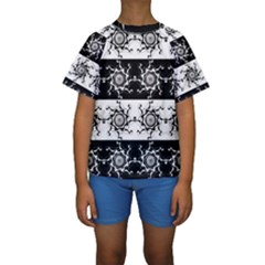 Three Wise Men Gotham Strong Hand Kids  Short Sleeve Swimwear