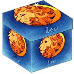 Zodiac Leo Storage Stool 12