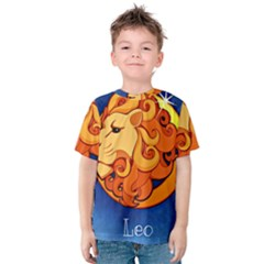 Zodiac Leo Kids  Cotton Tee