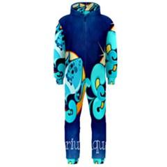Zodiac Aquarius Hooded Jumpsuit (Men)